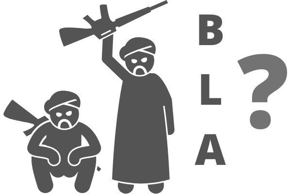 BLA terrorist