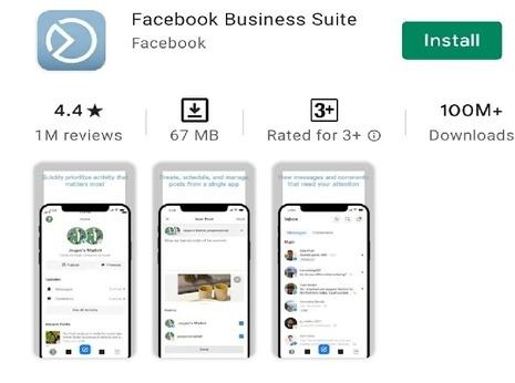 Download facebook business suite